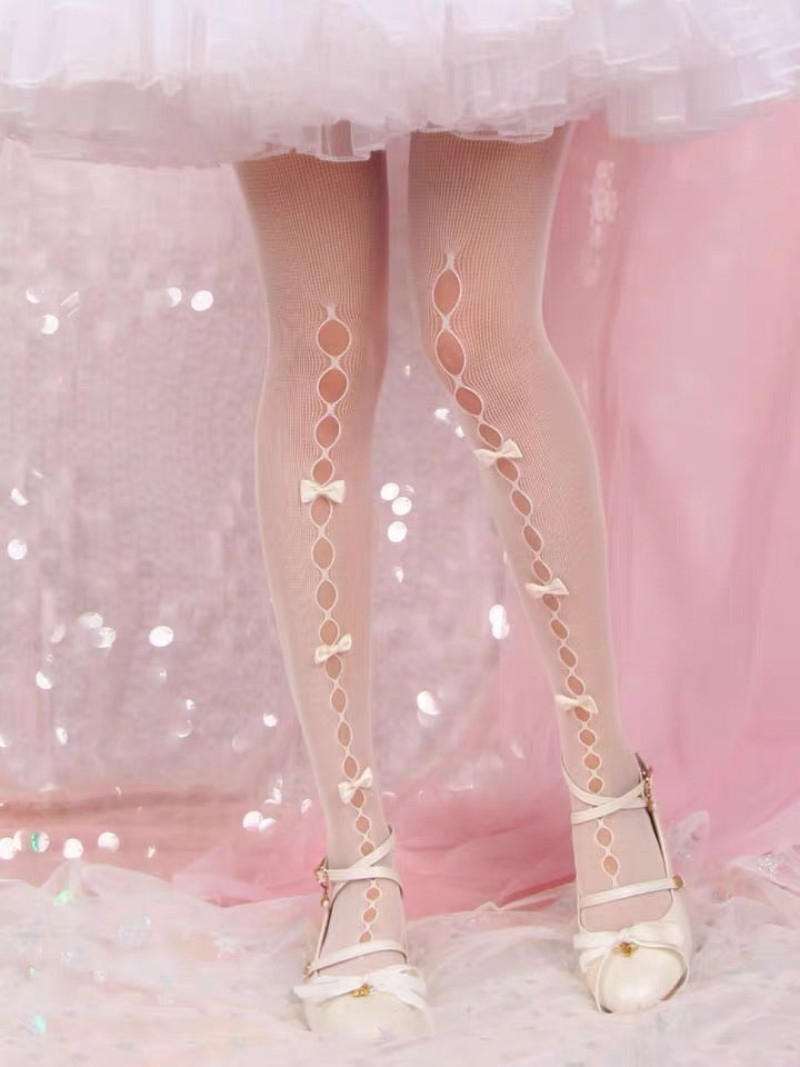 Ribbon Doll Lace Stocking - Peiliee Shop