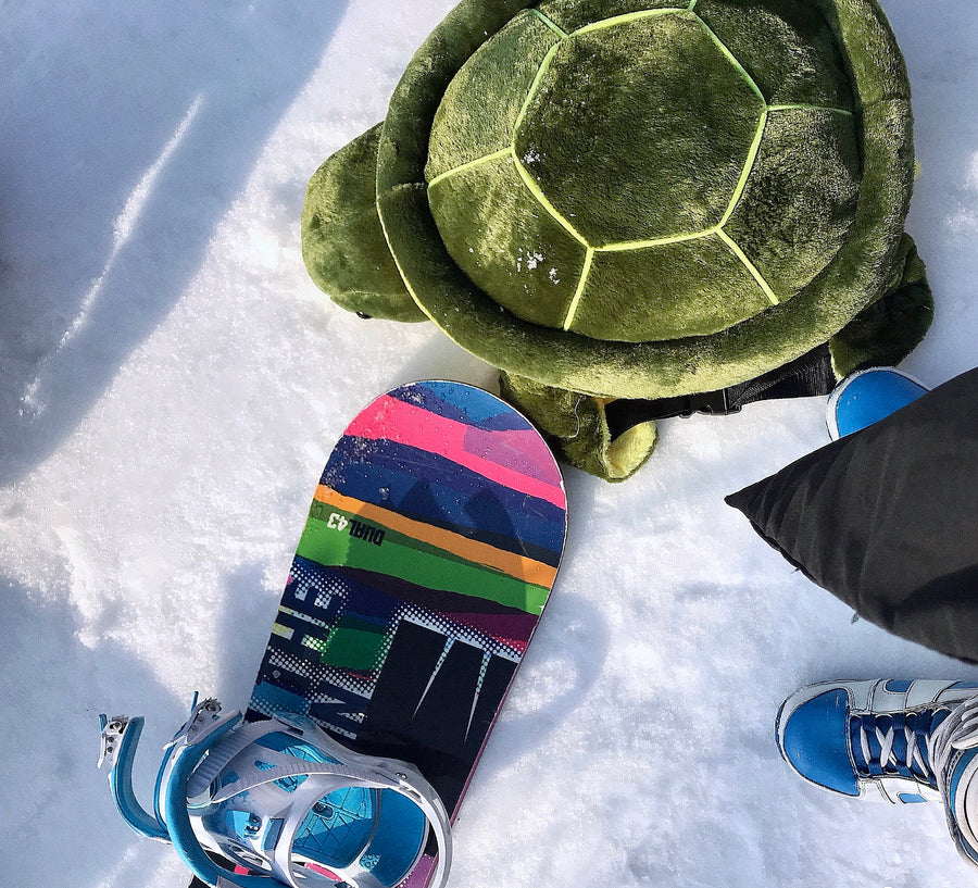 Oh, A Turtle On My Butt Skiing Snowboarding Must Have Turtle Butt Protect Pad Cushion Set - Peiliee Shop