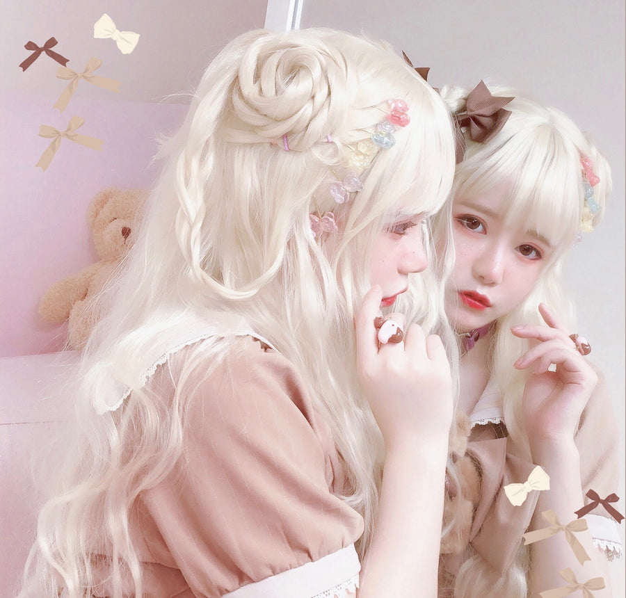 [Dolly Meow x Aoko] My Fairy Dream Doll Art Wig - Peiliee Shop