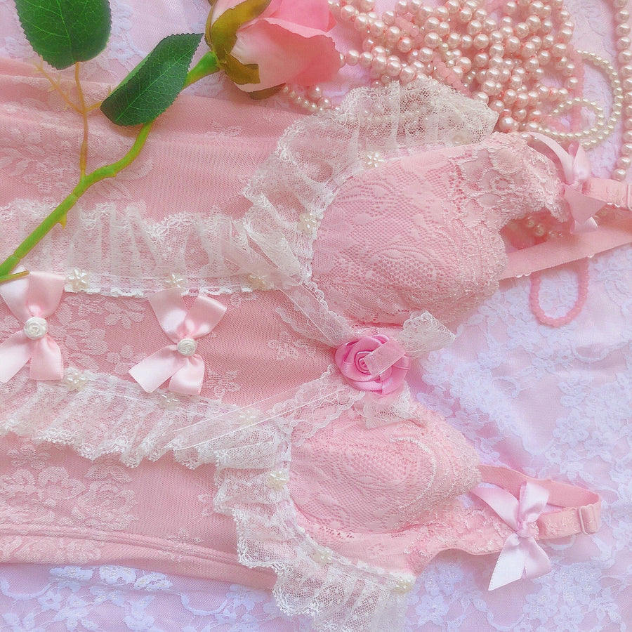 [Limited Edition] Rose Moonlight Handmade Corset - Peiliee Shop