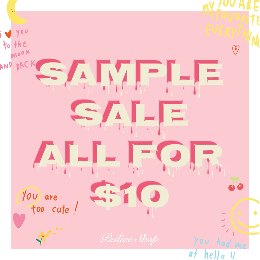 Sample Sale - Peiliee Shop