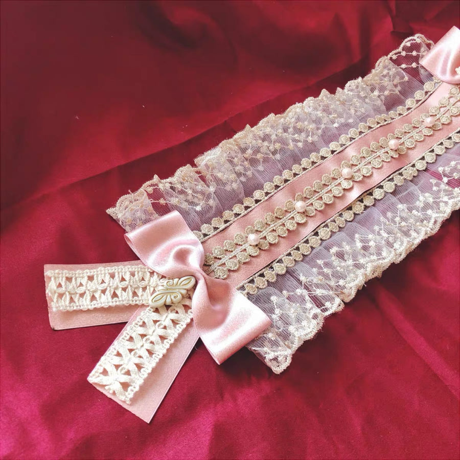 Handmade Royal Style Tea Party Lolita Fashion Hairband - Peiliee Shop