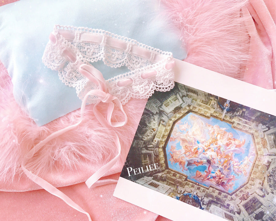 The Angelic Dream Princess Sissi Lace Choker - Peiliee Shop