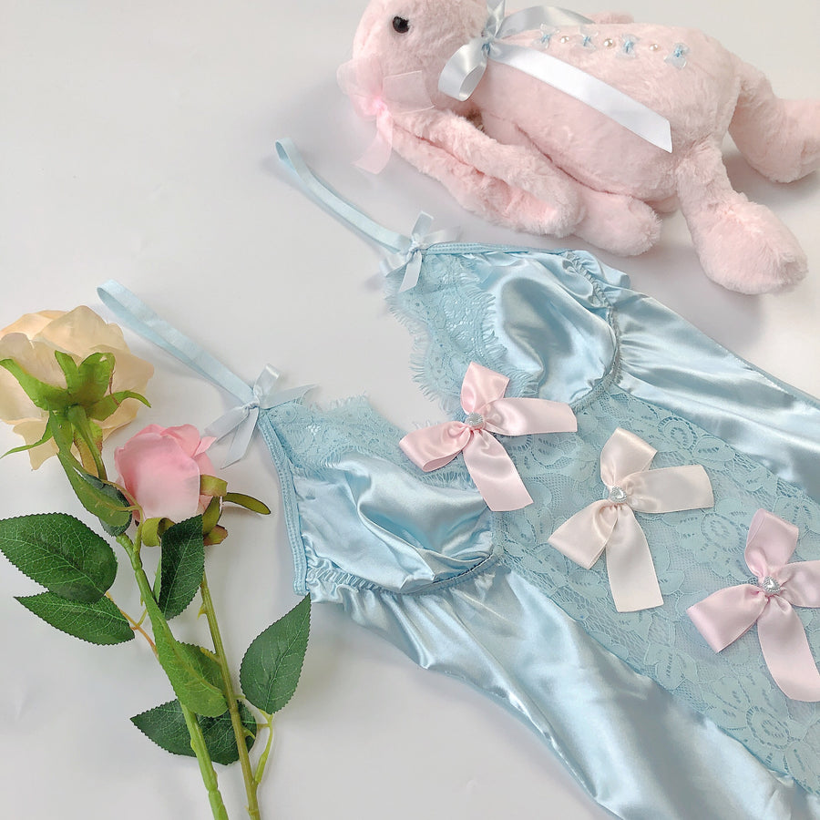 [Product Photo] Dolly Macaroons handmade Bodysuit - Peiliee Shop