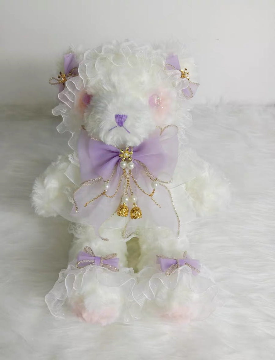 Shy Angel Dolly Handmade bear bag