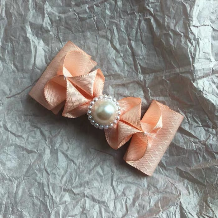 80s Princess handmade pearly hairpin - Peiliee Shop