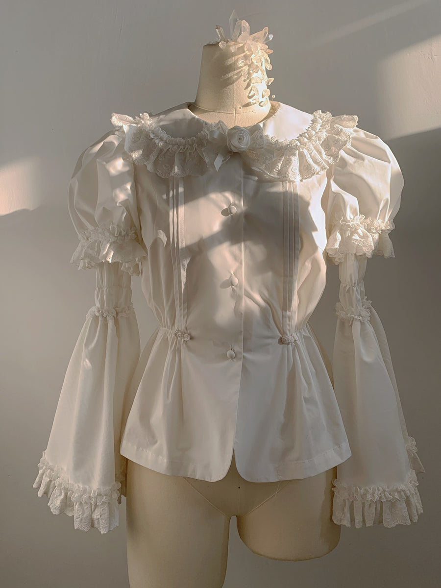 [Nololita Official] The nightingale shirt [Premium Selected]