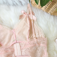 Peach 16 Angelic Babydoll French Body Lingerie - Peiliee Shop