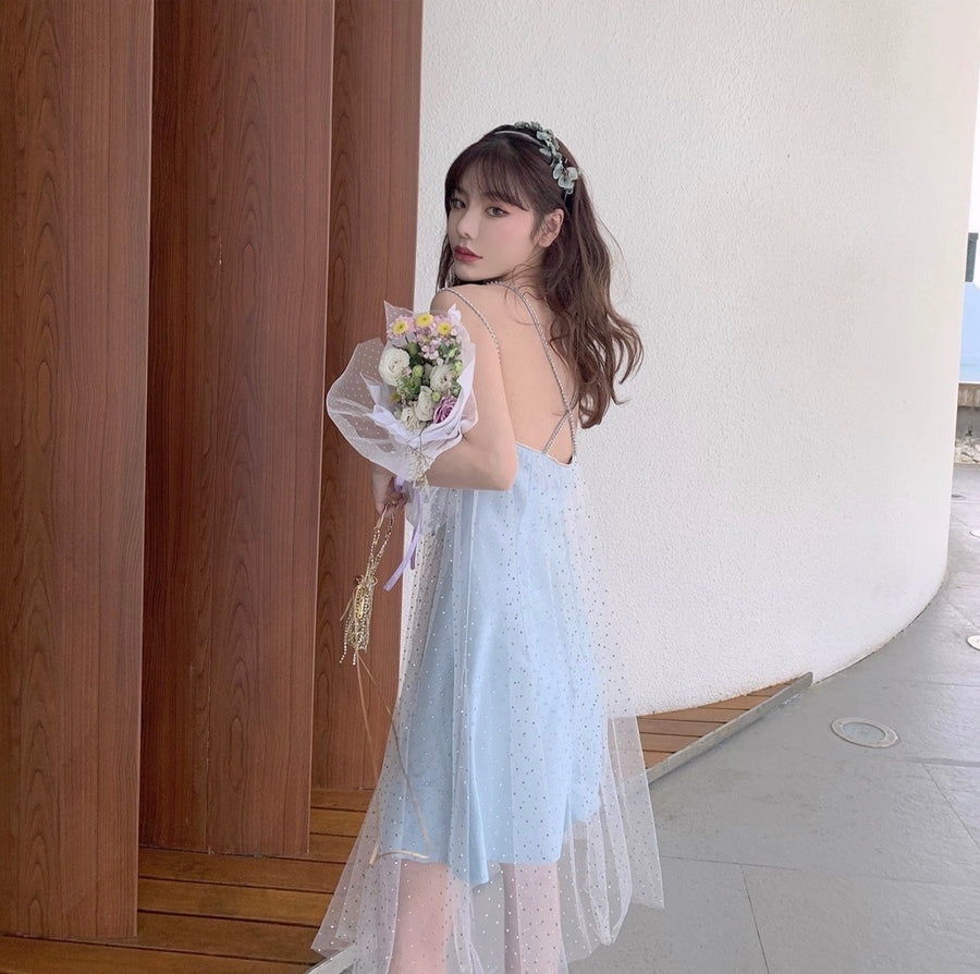 [Premium Selected] Crystal Fairy Diamond Dress