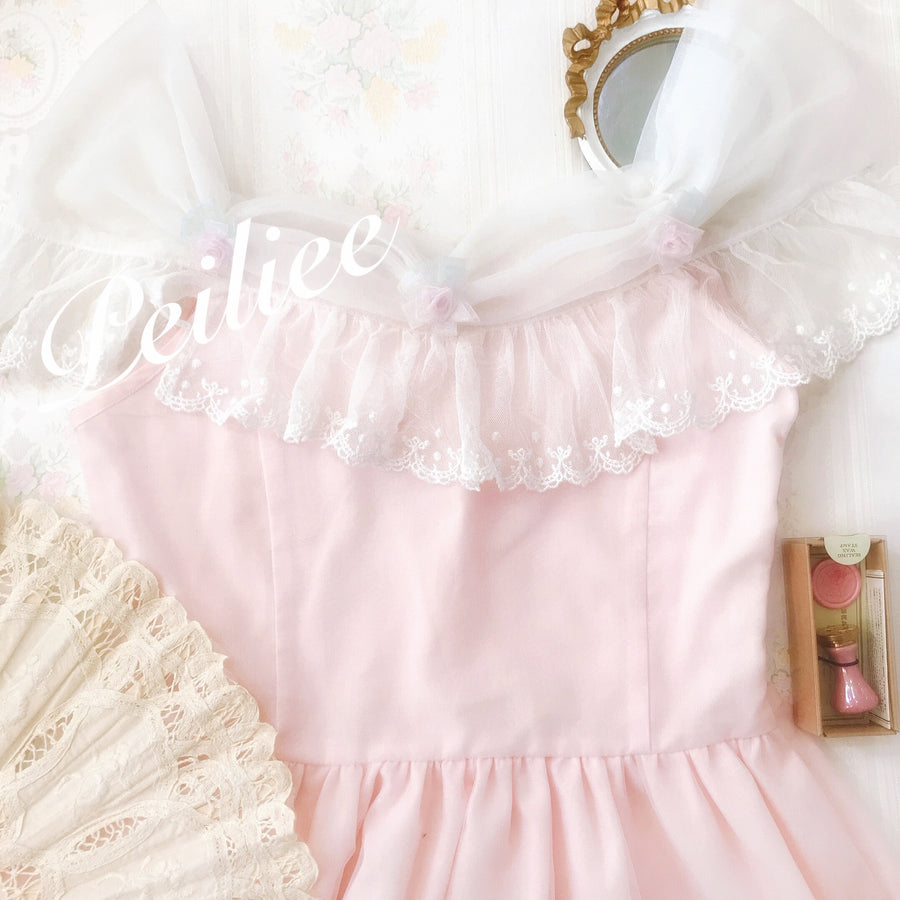 [By Peiliee Summer 2020] Aurora's Dreamy Princess Dress - Peiliee Shop
