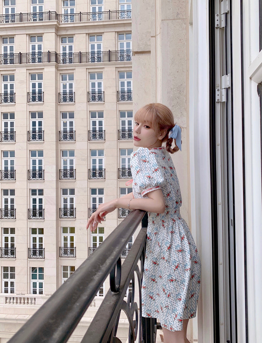 [Premium Selected Brand] Dolly Memory Babydoll Dress (Lolita Movie Inspired Vintage Fashion - Peiliee Shop