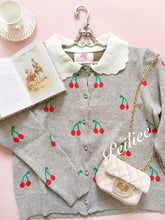 Cherry Pie Babydoll Cardigan - Peiliee Shop