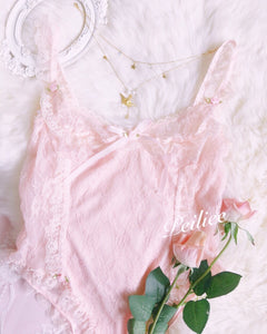 [Pre-Order Free Shipping] Pearly Mermaid Pastel Fairy Lace Body - Peiliee Shop