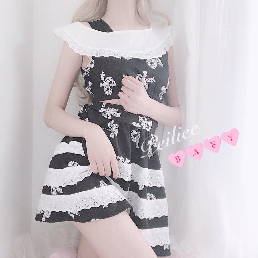 [Tailor HandMade] Dolly Me Custom Making with plus size - inspired by 1997 Lolita Movie - Peiliee Shop