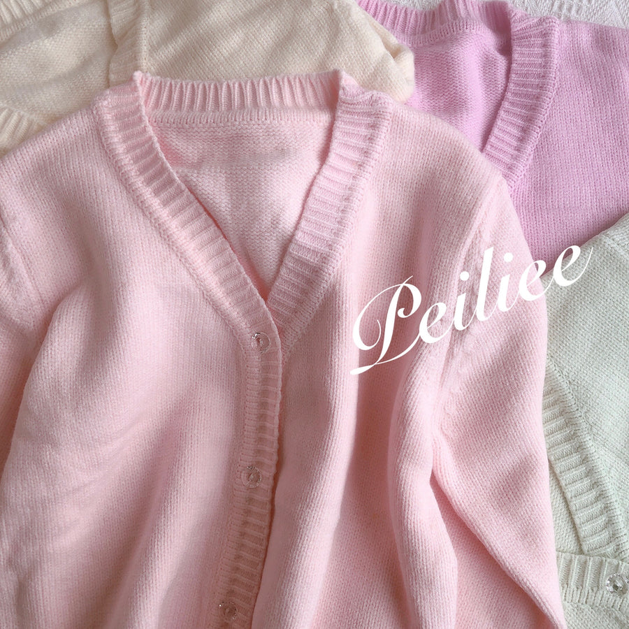 [Made By Peiliee] You are everything my heart dreams of Cardigan - Peiliee Shop