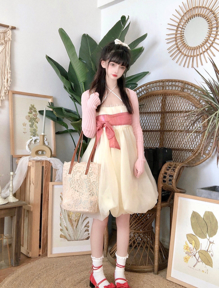 [Premium Selected Brand] Falling in love with cheese cake princess Dress (Designer Arilf) - Peiliee Shop