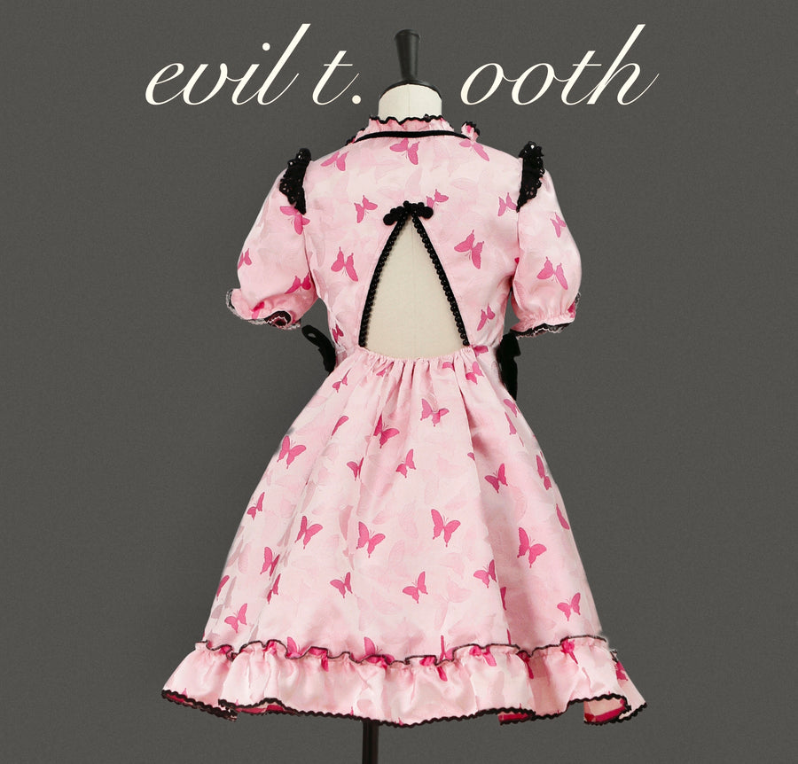 [Evil Tooth] Butterflies in the stomach love dress - Peiliee Shop