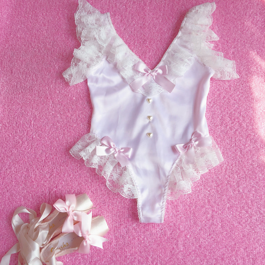 Peiliee X SSS Studio Sicily Dream Fairy Lace Body Handmade Lingerie - Peiliee Shop