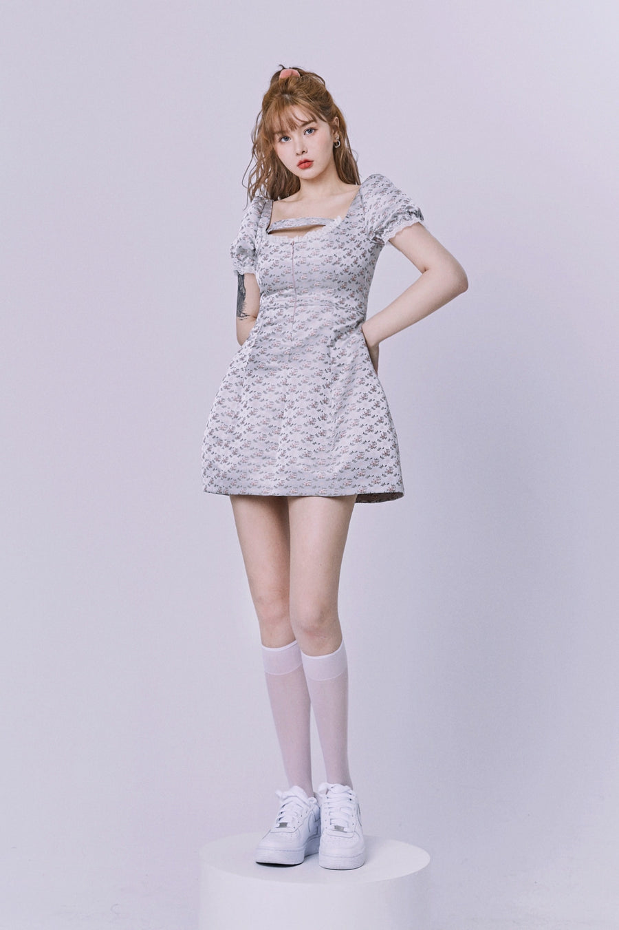 [Nakiss Limited Edition] The mystery garden mini dress