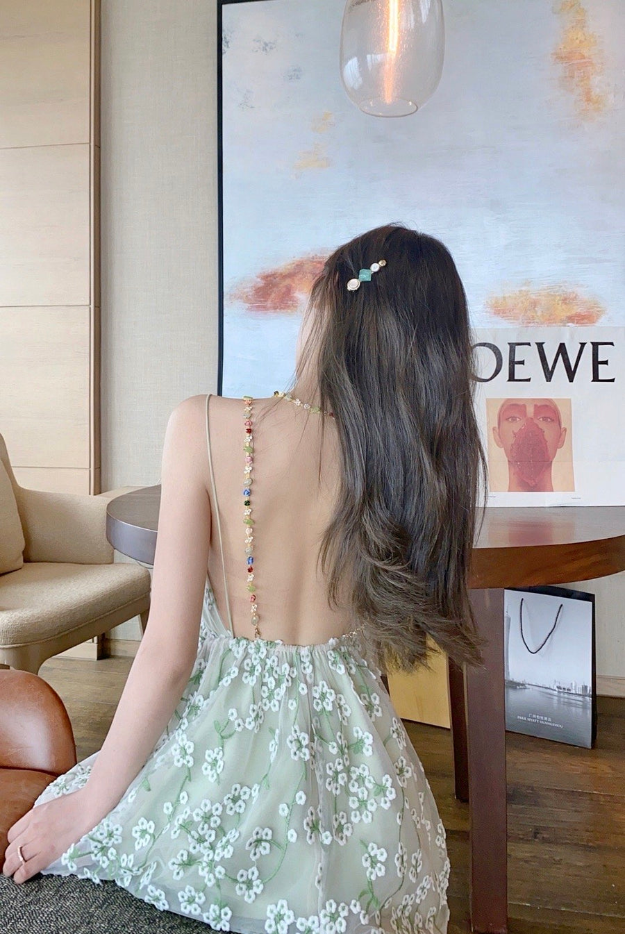 [Premium Selected] Tinker Bell Fairy Gem Princess Gown - Peiliee Shop