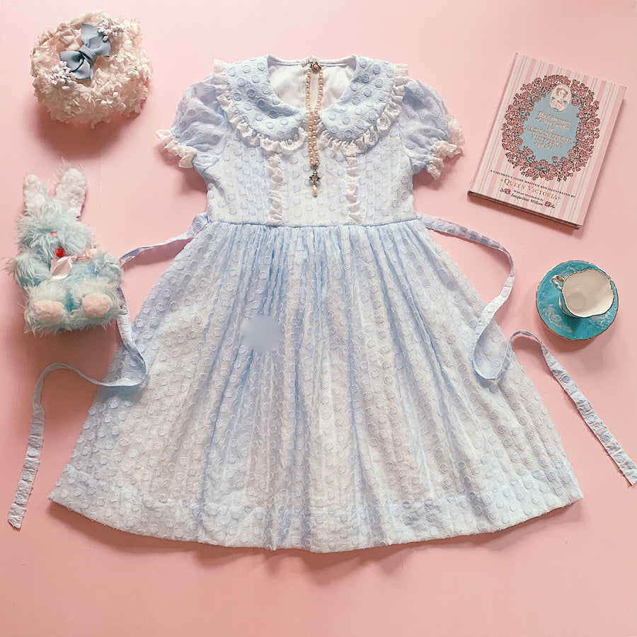[Premium Selected] Rose Lady Vintage Babydoll Dress - Peiliee Shop
