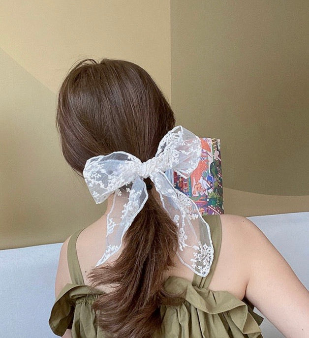 Lace Swan Hairband - Peiliee Shop