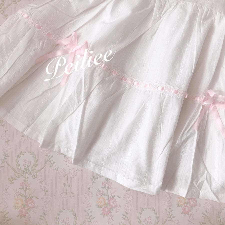[Petite] Daydream princess in bunny land vintage babydoll dress - Peiliee Shop