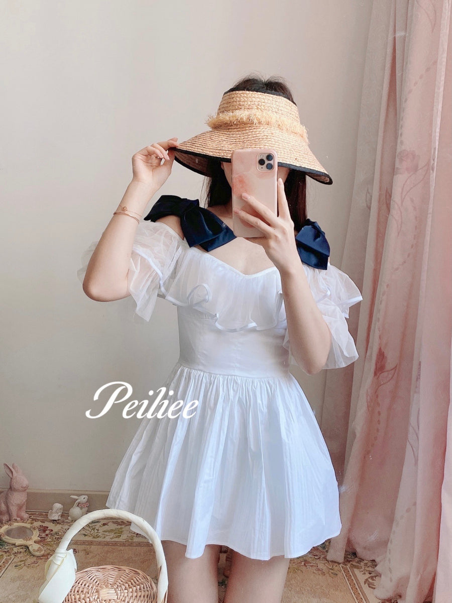 [Premium Selected] Moonlight Memory Mini dress - Peiliee Shop