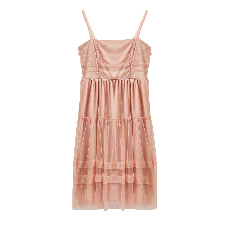 [Curve Beauty] Peach Fairy Dress - Peiliee Shop
