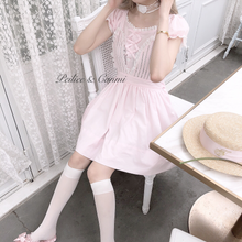 Nanami 's Favorite Bunny Dream Cotton Dress - Peiliee Shop