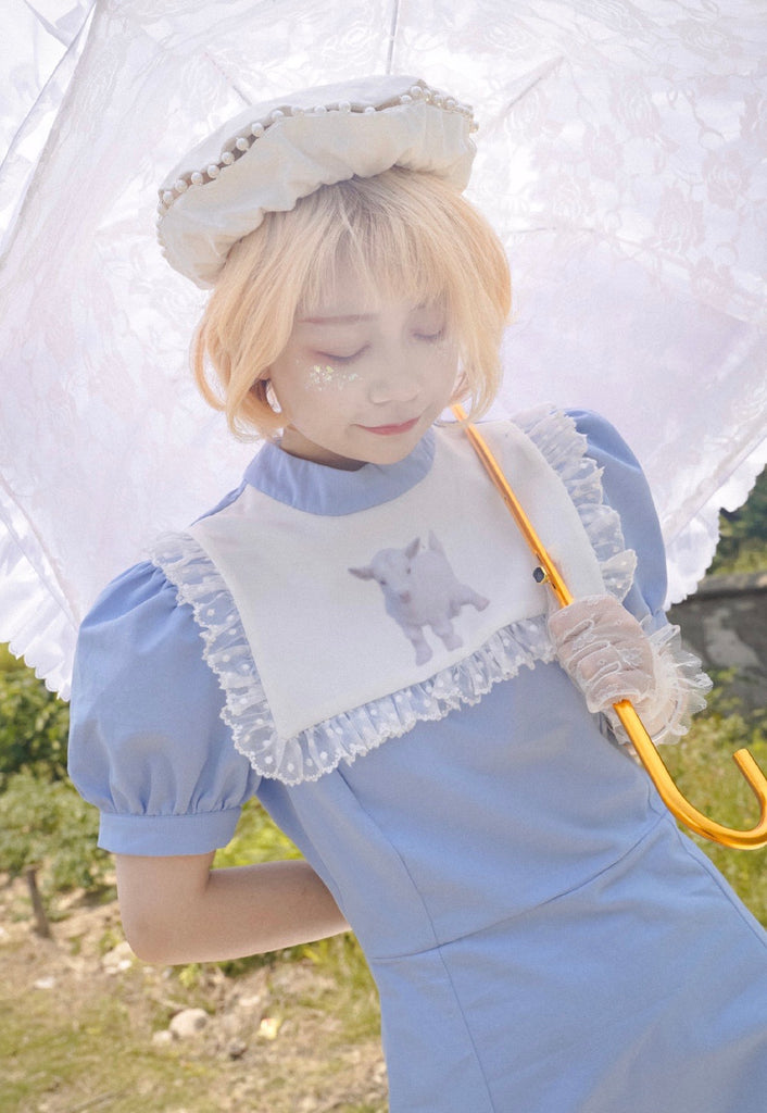 [Premium Selected] Lost In Lamb Land Dress (Designer DTD) - Peiliee Shop