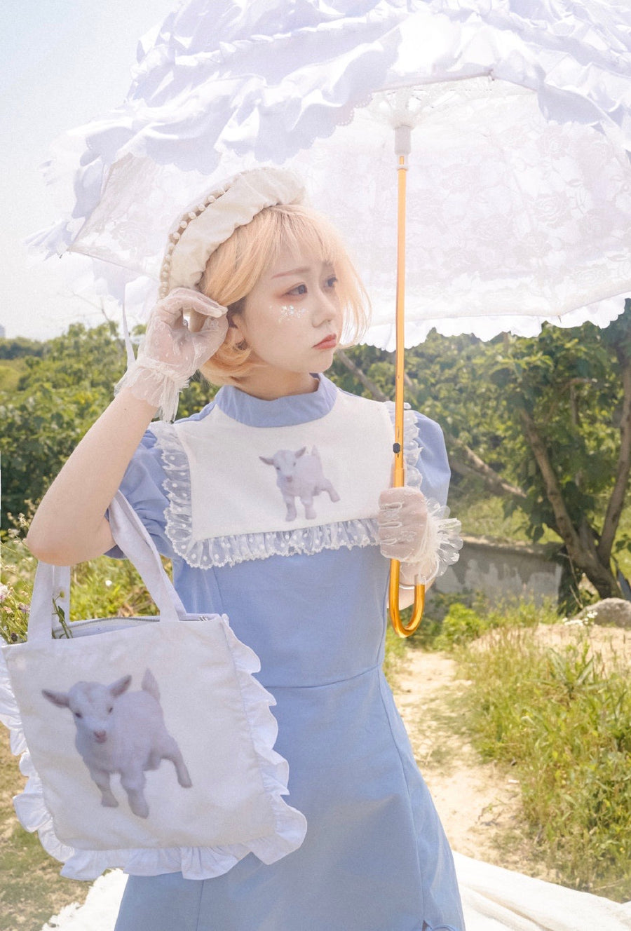 [Premium Selected] Lost In Lamb Land Dress - Peiliee Shop