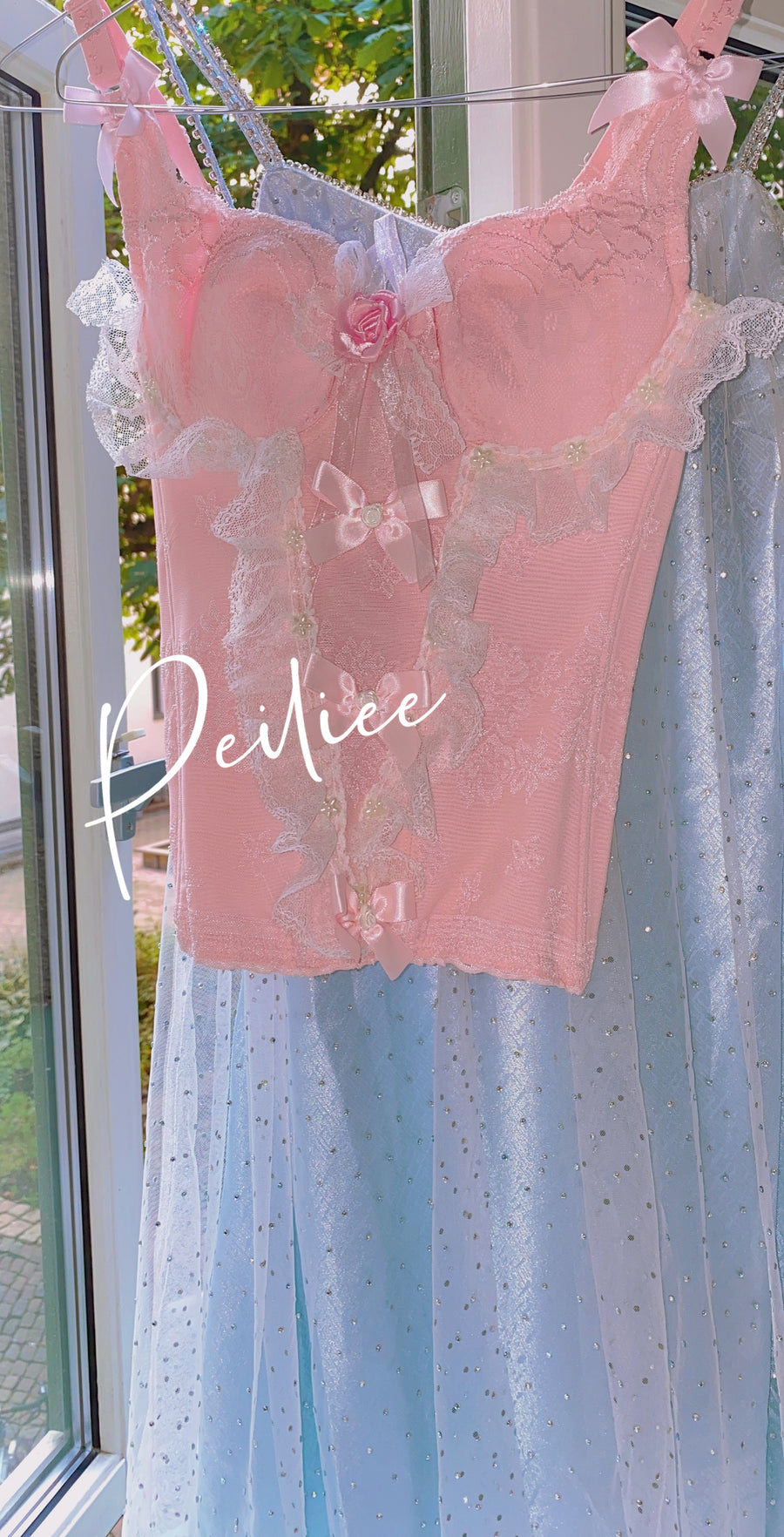 [Premium Selected] Crystal Fairy Diamond Dress - Peiliee Shop
