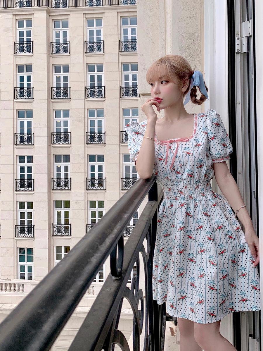 [Premium Selected Brand] Dolly Memory Babydoll Dress (Lolita Movie Inspired Vintage Fashion