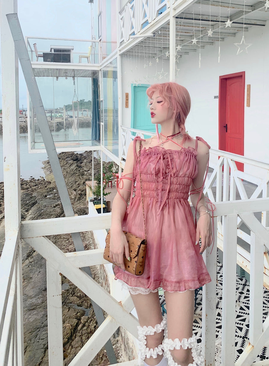 [Premium Selected] Raspberry Pie Dolly Dress - Peiliee Shop