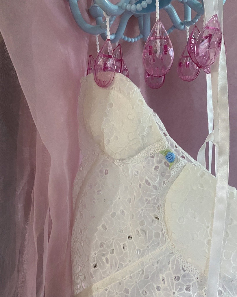 [Handmade] The Sick Angel Cotton Corset - Peiliee Shop