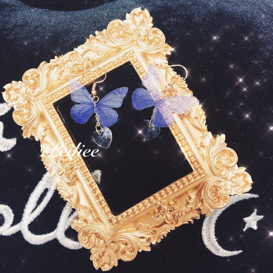 Dream Butterfly Earring - Peiliee Shop
