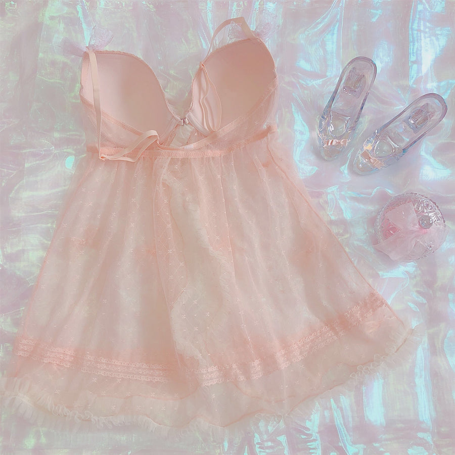 [Only 1 Made] Mon Cherie Handmade Bra Lingerie Dress - Peiliee Shop