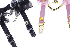 Heart Laced Leg Band - Peiliee Shop