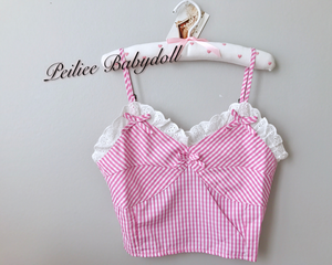 Peiliee Babydoll Candy Moon Top - Peiliee Shop