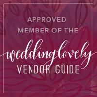 Approved Member of the WeddingLovely Vendor Guide