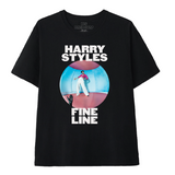 Fine Line Black Tee + Digital Download-Harry Styles