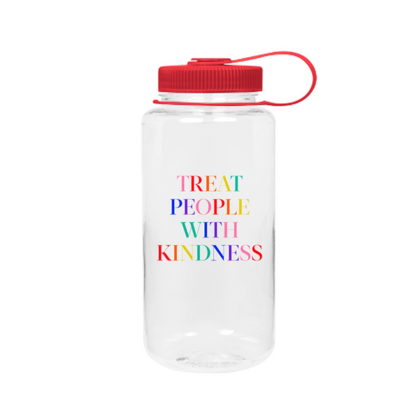 Treat People With Kindness Water Bottle