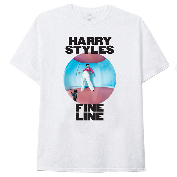 Fine Line White Tee + Digital Download
