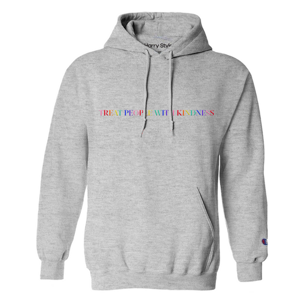 Treat People With Kindness Hoodie (Grey)-Harry Styles