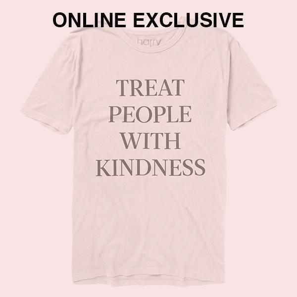 Treat People With Kindness Tee (White) - Harry Styles