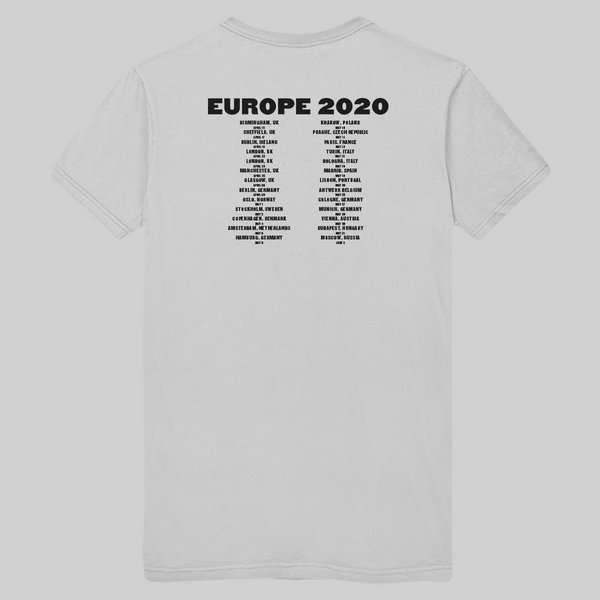 LOVE ON TOUR Europe Tee + Digital Download
