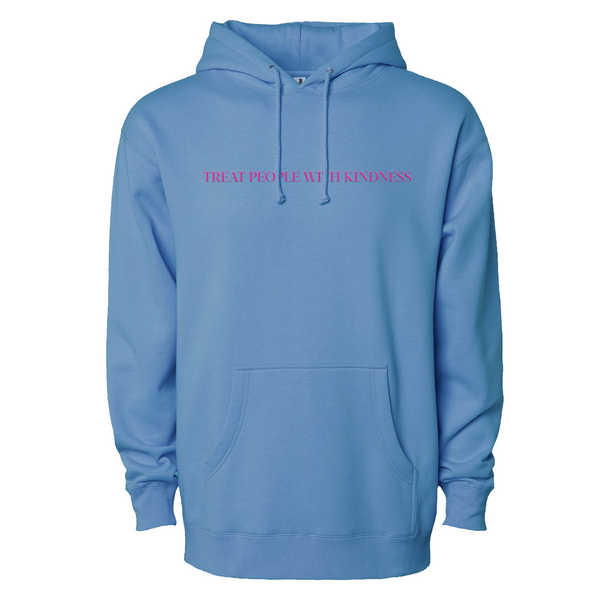 Treat People With Kindness Hoodie (Blue) + Digital Download - Harry Styles UK