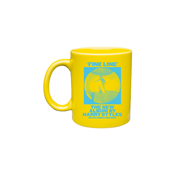 Fine Line Yellow Mug + Digital Download - Harry Styles UK