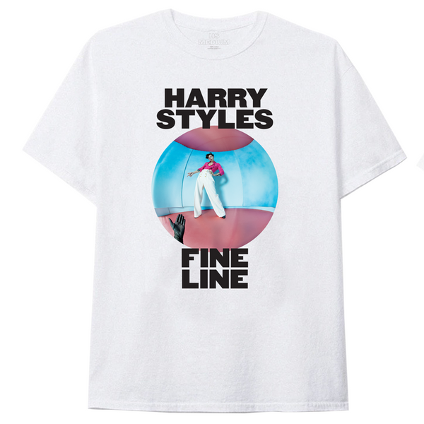 Fine Line White Tee + Album - Harry Styles UK